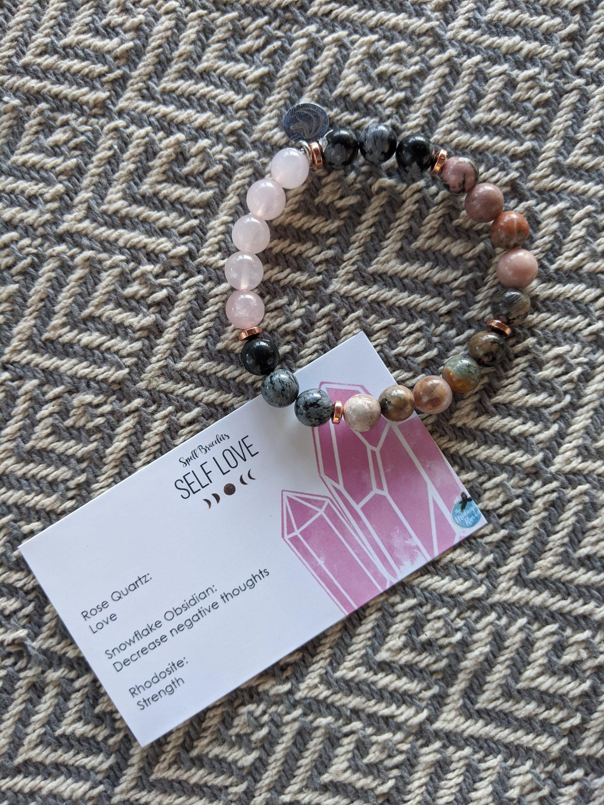Self Love Spell Bracelet