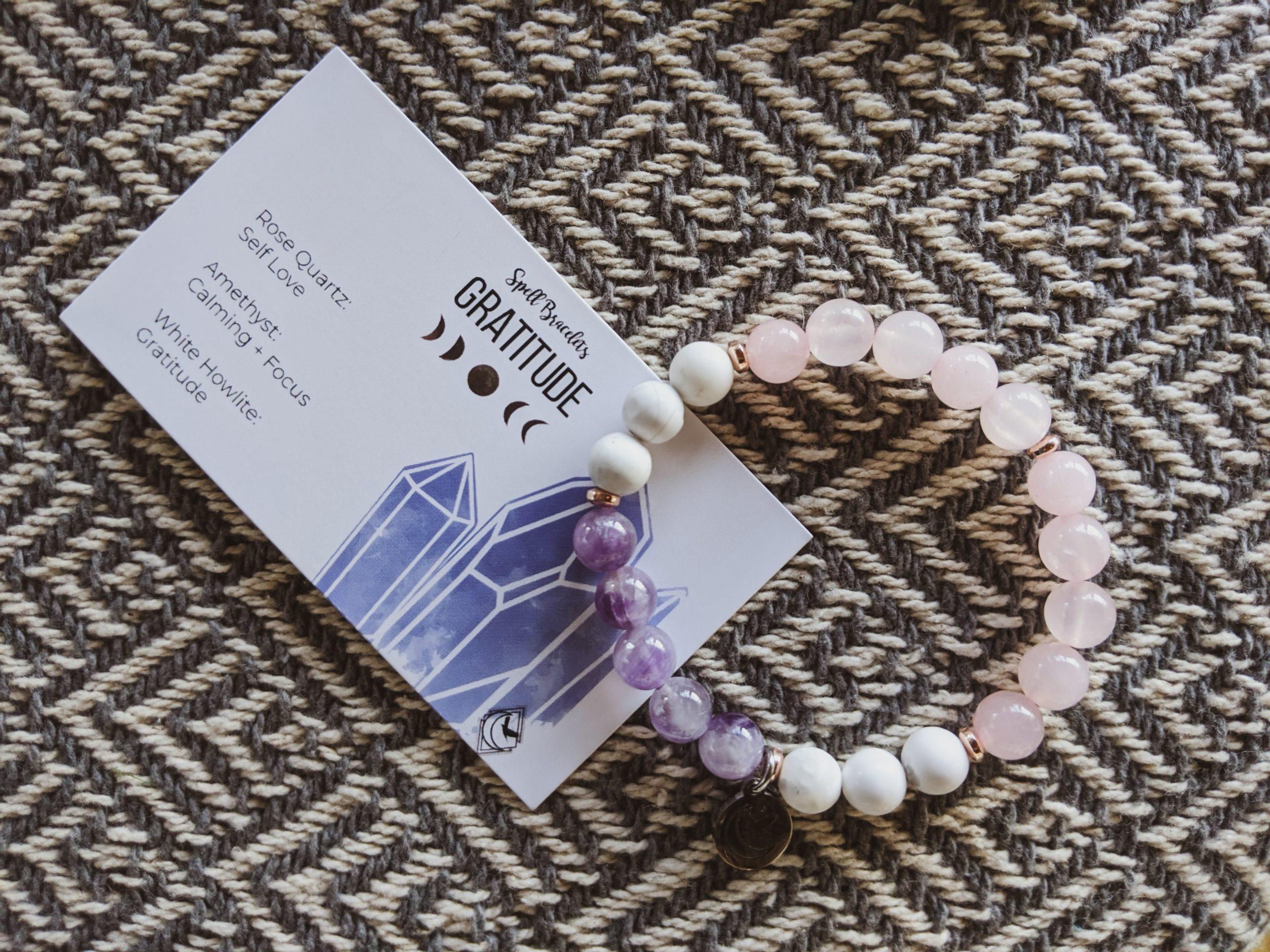 Gratitude Spell Bracelet