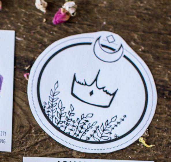 Queen Sigil Sticker