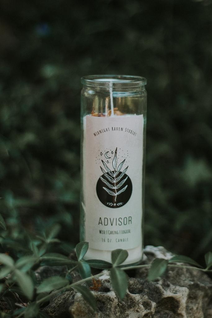 Advisor Manifestation Jar Candle