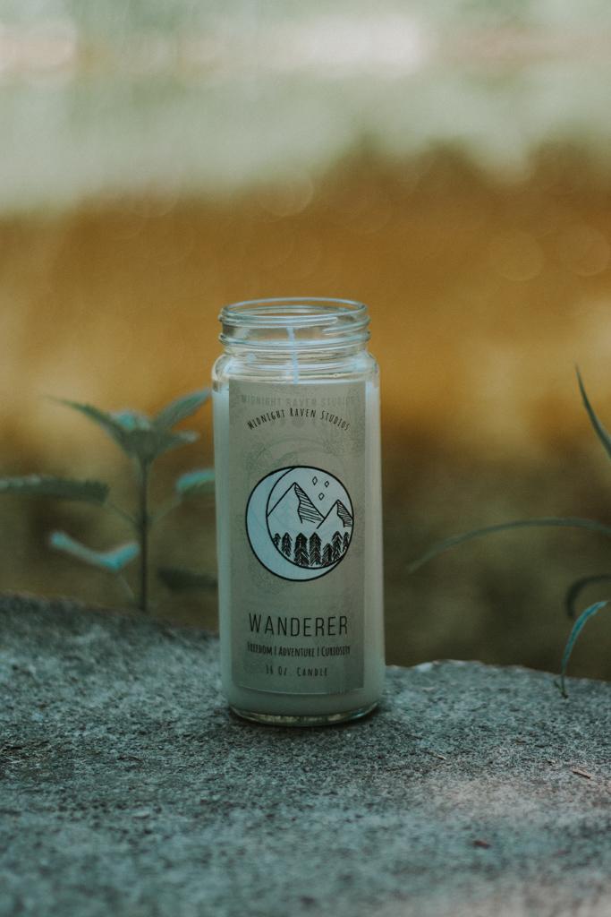 Wanderer Manifestation Jar Candle