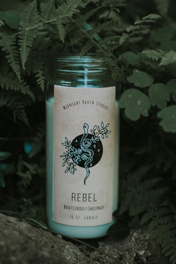 Rebel Manifestation Jar Candle