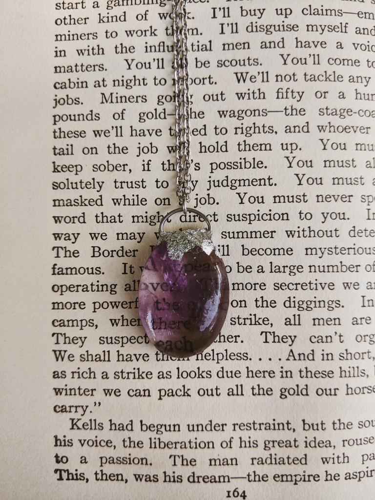 Ametrine Amulet 1