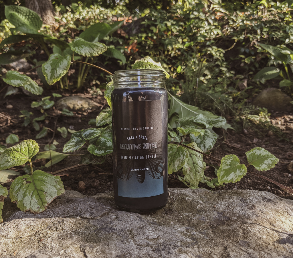 Intuitive Witch Manifestation Candle